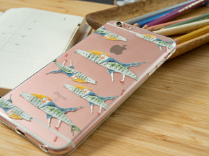 I Hug a Flying Fish - iPhone Flexi Case