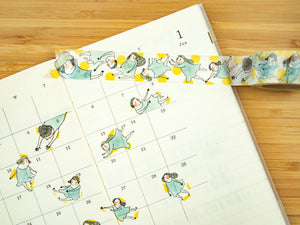 """Fly Me to the Moon"" Japanese Washi Tape 