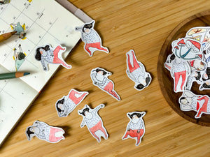 Rolling Around - Sticker Set