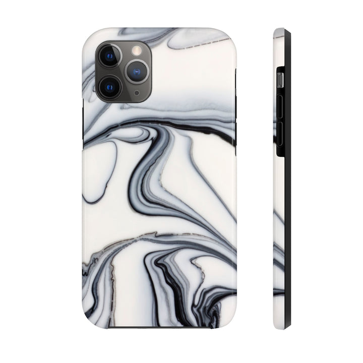 White Marble Case Mate Tough Phone Case