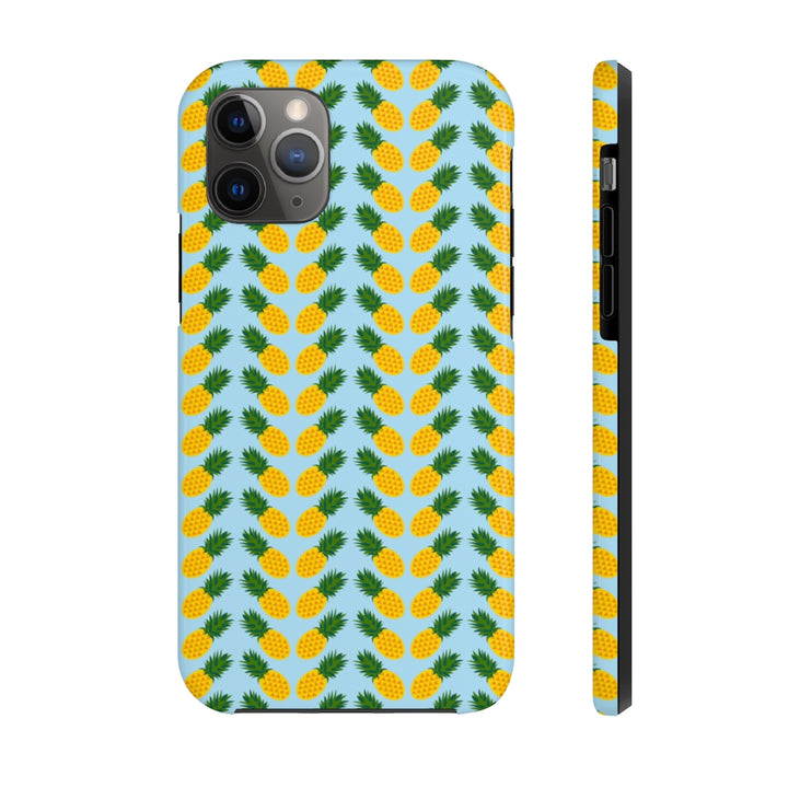 Neon Zoomed Pineapple Case Mate Tough Phone Case