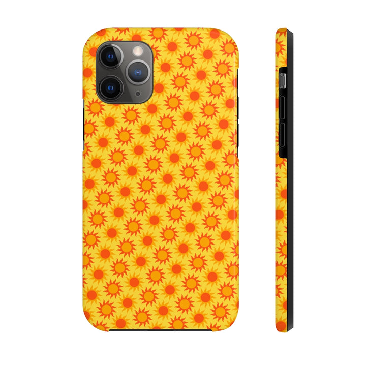 Neon Zoomed Sun Case Mate Tough Phone Case
