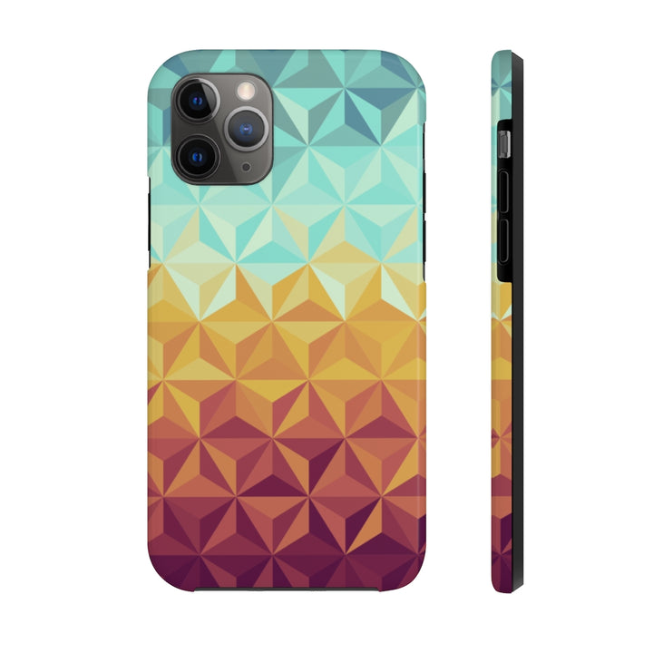 Rainbow Pyramid Case Mate Tough Phone Case