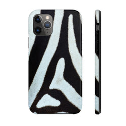 Zebra Skin Case Mate Tough Phone Case
