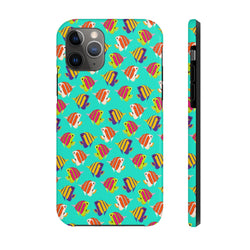 Neon Zoomed Fish Case Mate Tough Phone Case