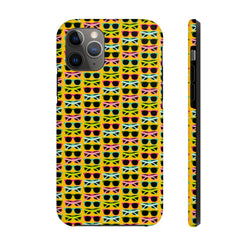 Neon Zoomed SunGlasses Case Mate Tough Phone Case