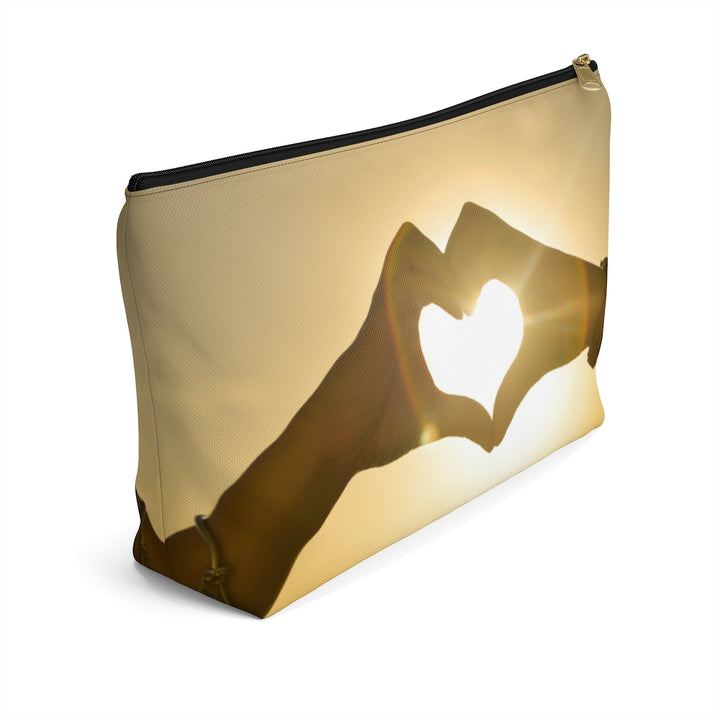 Love Sunset Accessory Pouch