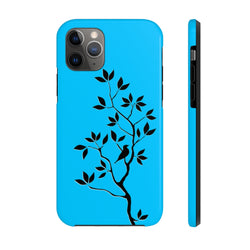 Black Tree Blue Case Mate Tough Phone Case