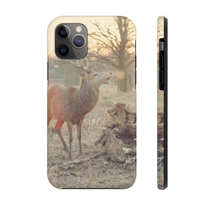 Stag Winter Case Mate Tough Phone Case