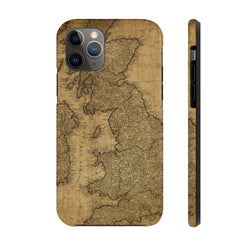 Maps Britain Case Mate Tough Phone Case