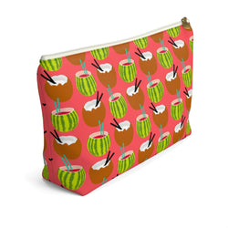 Coconut & Melon Cocktails Accessory Pouch