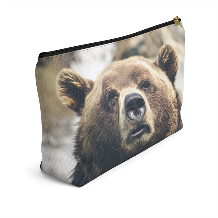 Grizzly Brown Bear Accessory Pouch
