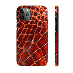 Brown Crocodile Case Mate Tough Phone Case
