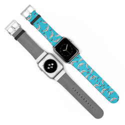 Blue Dolphins Watch Band for Apple Watch