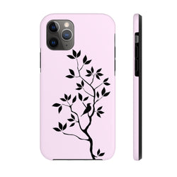 Black Tree Pink No Shad Case Mate Tough Phone Case