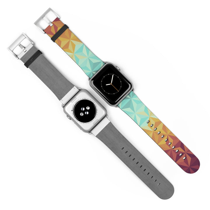Geometric Triangles Watch Band for Apple Watch
