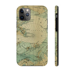 Maps North Pole Case Mate Tough Phone Case