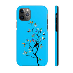 Colour Tree Blue Case Mate Tough Phone Case