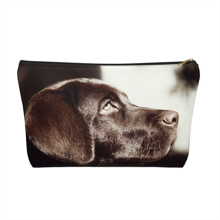 Black Labrador Retriever Accessory Pouch