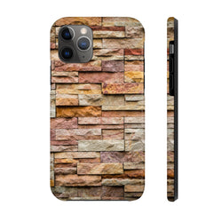 Stacked Granite Case Mate Tough Phone Case