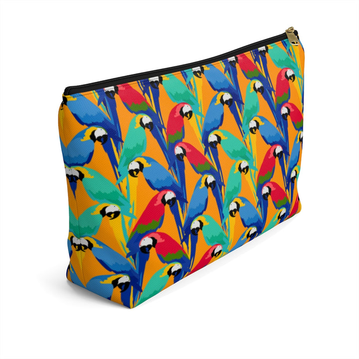 Tropical Parrots Accessory Pouch