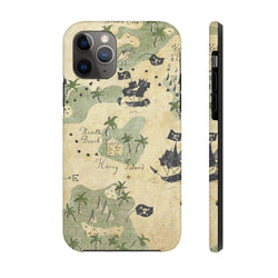 Maps Pirate Case Mate Tough Phone Case
