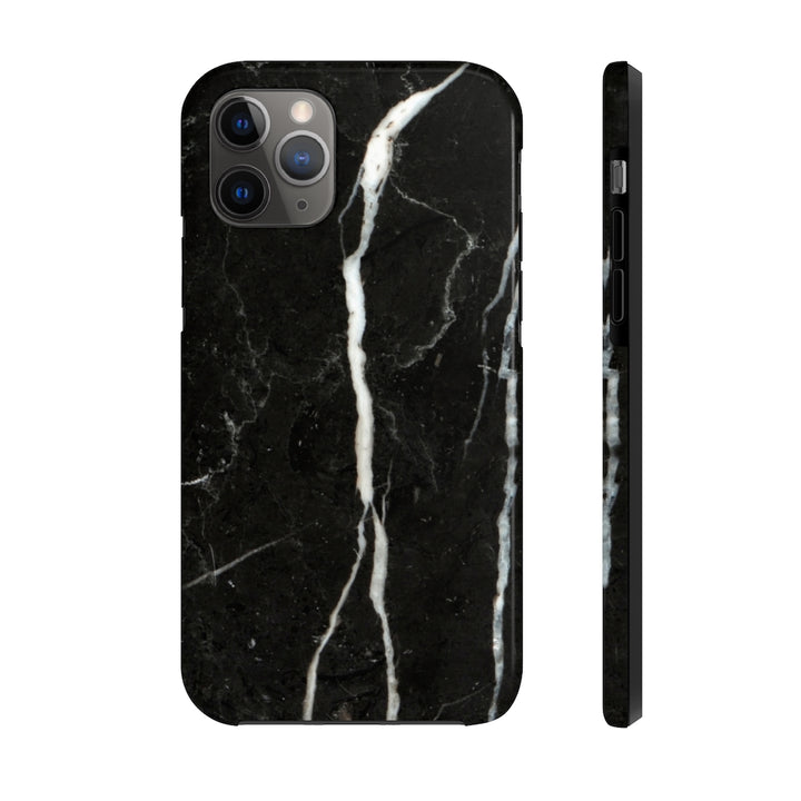 Black Marble Case Mate Tough Phone Case