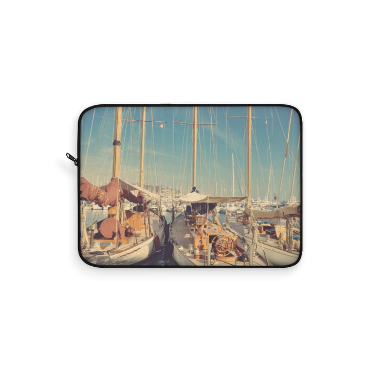 Vintage Sailing Boats Laptop Sleeve