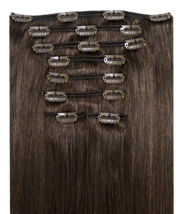 Dark Brown Extensions