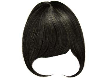 Off Black Clipin Bangs