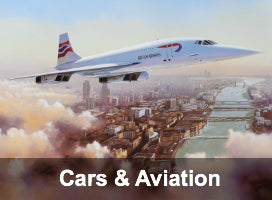 Cars & Aviation Limited Edition Prints