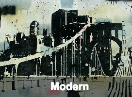 Modern open edition prints