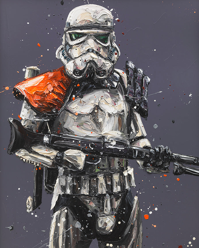 """Move Along......"" Sandtrooper/ Star Wars by Paul Oz (limited edition)"