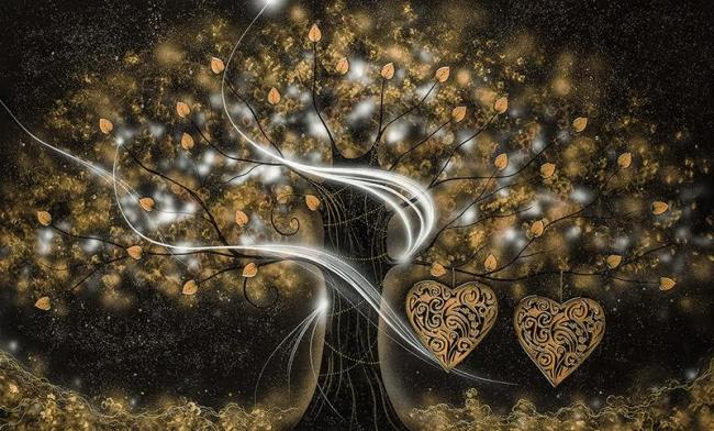 Kealey Farmer - 'The Power of Love Gold' - Limited Edition Artwork