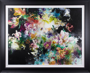 """Lush "" Botanical Collection by Katy Jade Dobson (framed original oil painting)"