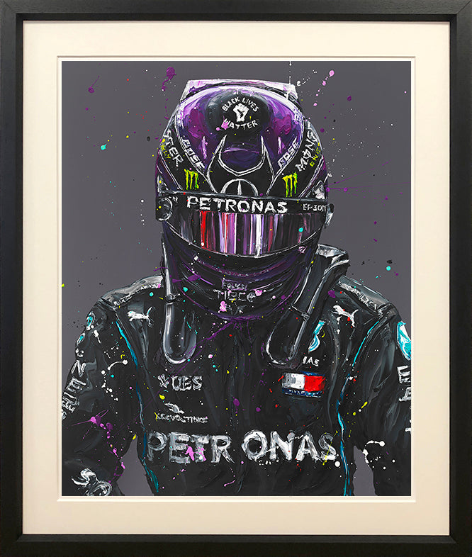 Paul Oz - ' Lewis 2020 ' - Limited Edition Print & Canvas