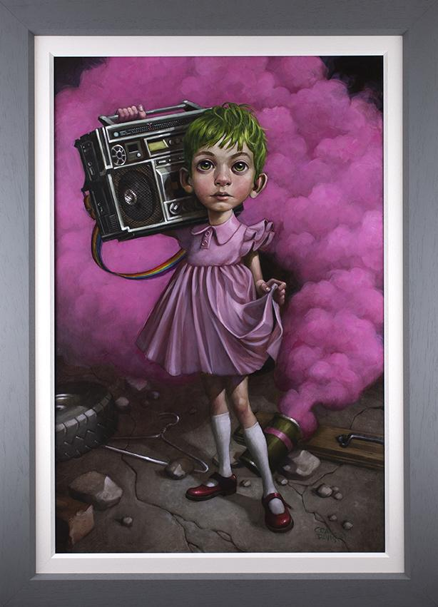 Craig Davison - ' Make Your Own Kind Of Music ' - Original and Limited Edition Art