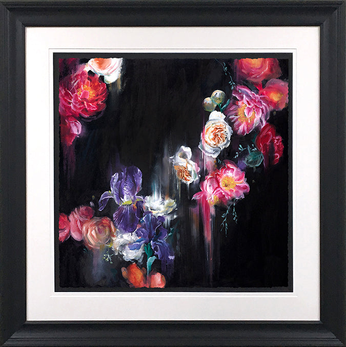 Katy Jade Dobson - 'Dark Flora' (Botanical Collection) - Original Oil Painting