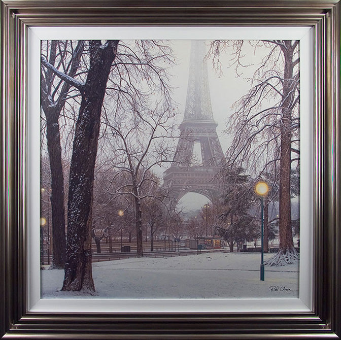 Rod Chase  'A Foggy Day In Paris ' - Framed Open Edition Print
