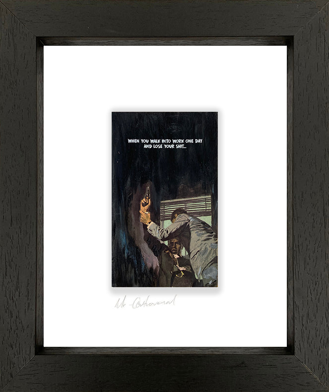Mr Controversial - 'Loose Your Shit II'- Framed Original Art