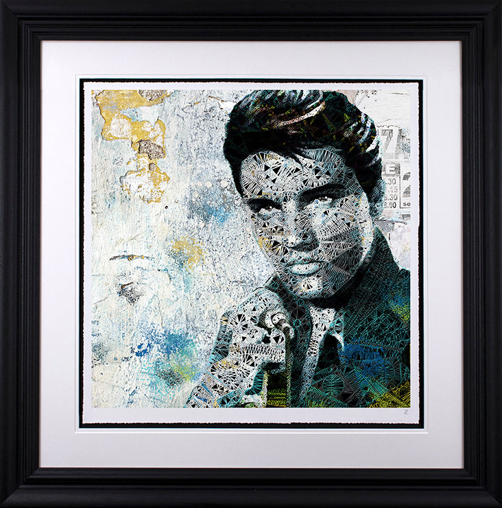Zee - 'Elvis - Cotton Collection' - Limited Edition Art