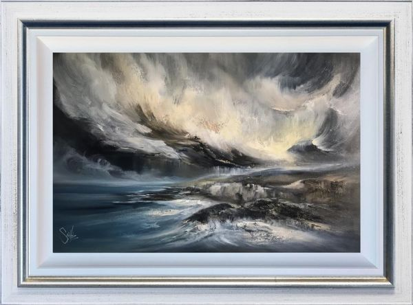 Caro Saintvire - 'At Cliff's Edge' - Original Art