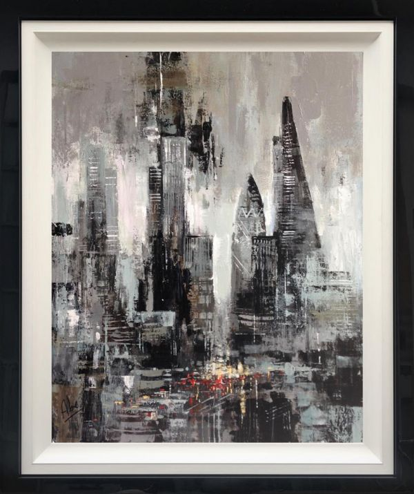 Abe - 'Brooding London' - Original Art