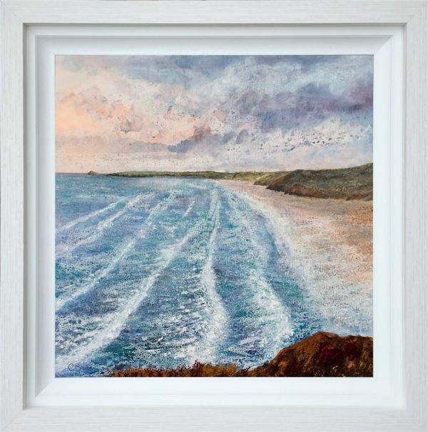 Chris Bourne - 'Above The Incoming Tide' - Original Art