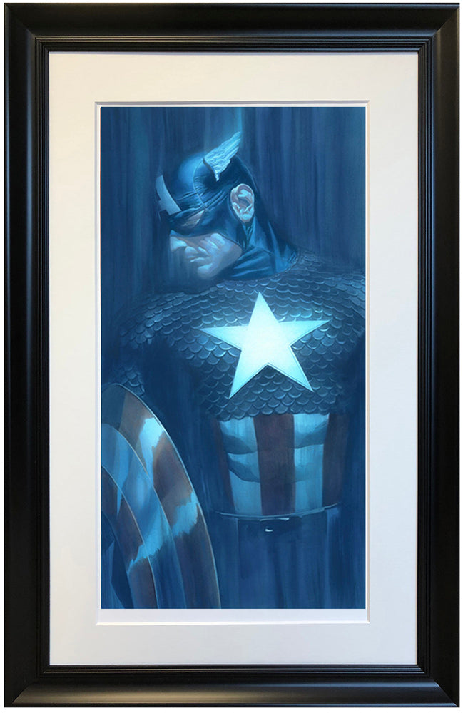 """Captain America"" by Alex Ross (exclusive limited edition print)"