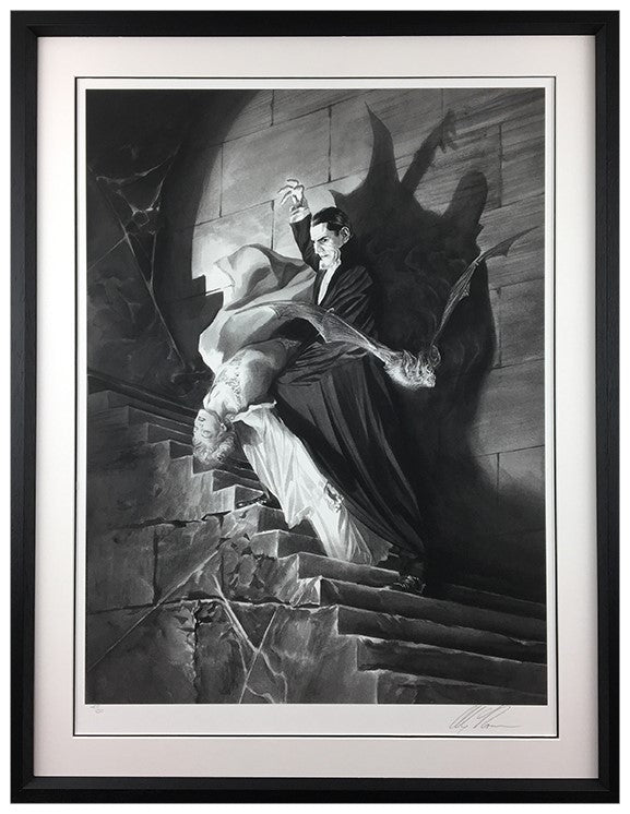 """Dracula"" by Alex Ross (exclusive limited edition print)"