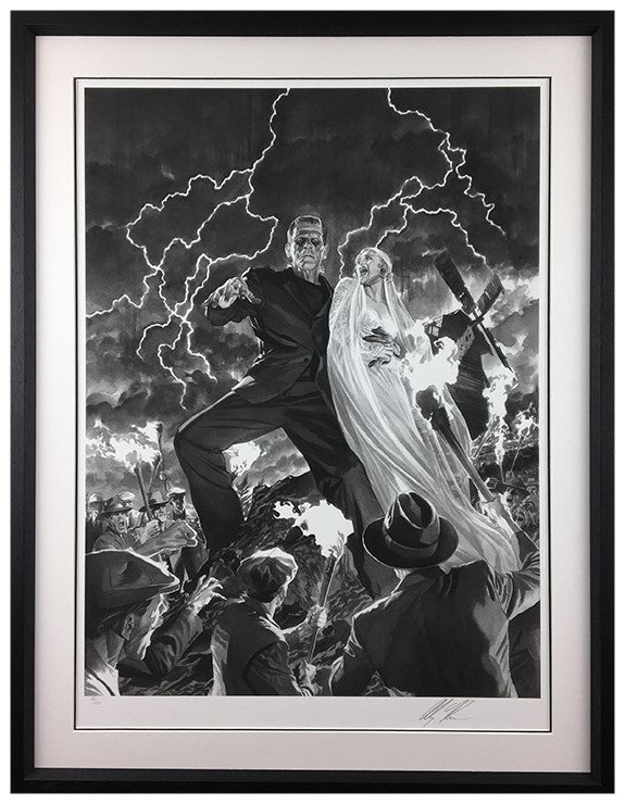 """Frankenstein"" by Alex Ross (exclusive limited edition print)"