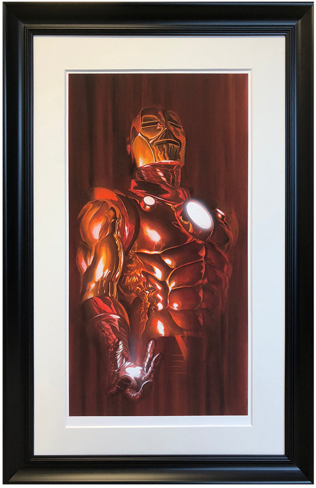 """Iron Man"" by Alex Ross (exclusive limited edition print)"