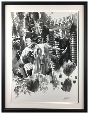 """The Bride of Frankenstein"" by Alex Ross (exclusive limited edition print)"