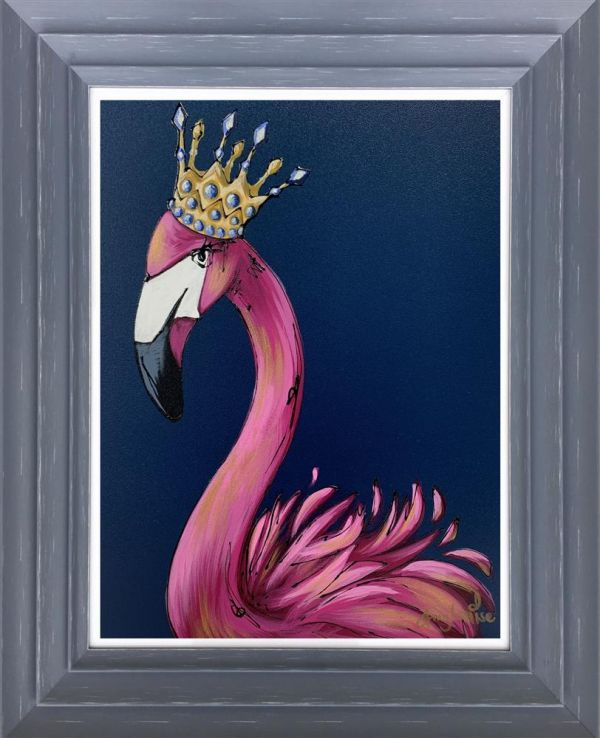 Amy Louise - 'If The Crown Fits' - Original Art